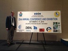 Photo of Roland Wahlgren at CWWA Conference 2014